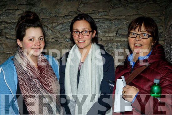 Attending the New Dingle Choir&Orchestra performance in St Mary's church, Dingle on December 22nd last were L-R Siobhan, Alanna&Mairéad O'Connor from Ballyiferritor.