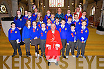 Mrs Griffins Class Sixth class students from CBS primary were confirmed by Bishop Ray Browne at St. John's Church Tralee on Friday. PicturedFront Row: Archie Donovan, Lottie Boyle, Aisling Walsh, Patrick McCarthy, Bishop Ray Browne, Conor Myers, Darragh O Sullivan, Eoghan Carroll Middle Row: Saoirse Horgan, Killian Casey, Kasia Kowalewska, Larry Adebayo, Leonardo Gaxha, Conor Wheatcroft, Tom O Farrell, John Quilligan, Bartosz Witkowski, Dawid Kapkowski Back Row:Cian Harris, David Siegel, Ryan Hurley, Maggie Griffin (teacher), Conor Morrison O Brien, Fr. Sean Hanafin
