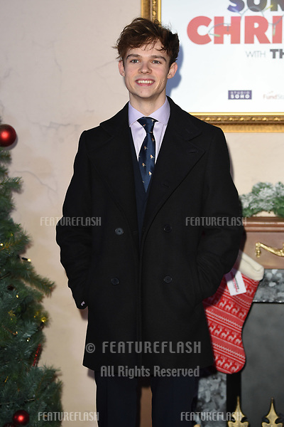 """LONDON, UK. November 21, 2018: Jonas Moore at the """"Surviving Christmas with the Relatives"""" premiere at the Vue Leicester Square, London.<br /> Picture: Steve Vas/Featureflash"""