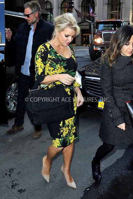 WWW.ACEPIXS.COM<br /> <br /> March 13 2015, New York City<br /> <br /> Singer Jessica Simpson made an appearance at the Today show and then visited a building on Fifth Avenue on March 13 2015 in New York City<br /> <br /> By Line: Curtis Means/ACE Pictures<br /> <br /> <br /> ACE Pictures, Inc.<br /> tel: 646 769 0430<br /> Email: info@acepixs.com<br /> www.acepixs.com