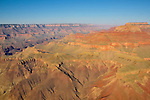 View of the Grand Canyon.