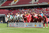 02.08.2015. Cologne, Germany. Pre Season Tournament. Colonia Cup. FC Cologne versus Valencia CF. Game 3, Valencia and FC Cologne