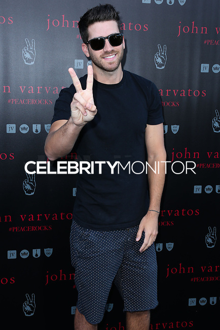 WEST HOLLYWOOD, CA, USA - SEPTEMBER 21: Ryan Rottman arrives at the John Varvatos #PeaceRocks Ringo Starr Private Concert held at the John Varvatos Boutique on September 21, 2014 in West Hollywood, California, United States. (Photo by Xavier Collin/Celebrity Monitor)