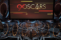Jimmy Kimmel during the live ABC Telecast of The 90th Oscars&reg; at the Dolby&reg; Theatre in Hollywood, CA on Sunday, March 4, 2018.<br /> *Editorial Use Only*<br /> CAP/PLF/AMPAS<br /> Supplied by Capital Pictures