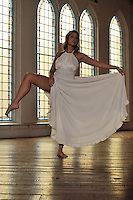 Gregory Holmgren Photography, dance, movement project, model, dancer, Dani Shayne at Berkeley Church, Toronto, ON, December 10, 2012.