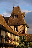 Europe/France/Normandie/Basse-Normandie/14/Calvados/Pays d'Auge/Beuvron en Auge: le Château