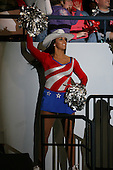 March 15, 2009:  Member of the Rochester Amerks dance team during the third period of a regular season game at the Blue Cross Arena in Rochester, NY.  Hamilton defeated Rochester 4-3 in a shoot out.  Photo Copyright Mike Janes Photography 2009