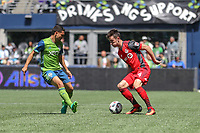 Seattle, Washington - Saturday, May 6, 2017:  Seattle Sounders FC vs Toronto FC. Final Score, Seattle Sounders FC 0, Toronto FC 1