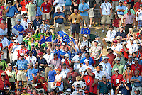 Part of the huge crowd gathered on the 14th green during the Singles on the Final Day of the Ryder Cup at Valhalla Golf Club, Louisville, Kentucky, USA, 21st September 2008 (Photo by Eoin Clarke/GOLFFILE)