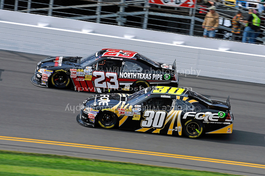 Robert Richardson, Jr. (#23) and James Buescher (#30)