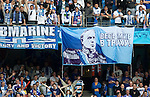 Zenit fans tribute to little General Dick Advocaat