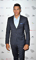 Louis Smith attends the WGSN Global Fashion Awards at the Victoria & Albert Museum on October 30, 2013 in London, England