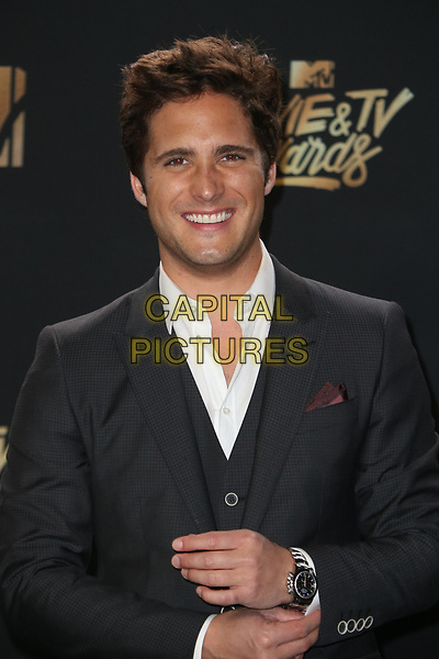 LOS ANGELES, CA - MAY 7: Diego Boneta at the 2017 MTV Movie and TV Awards at The Shrine Auditorium in Los Angeles, California on May 7, 2017. <br /> CAP/MPI/FS<br /> &copy;FS/MPI/Capital Pictures