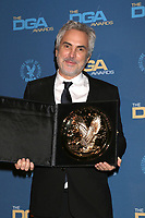 LOS ANGELES - FEB 2:  Alfonso Cuaron at the 2019 Directors Guild of America Awards at the Dolby Ballroom on February 2, 2019 in Los Angeles, CA