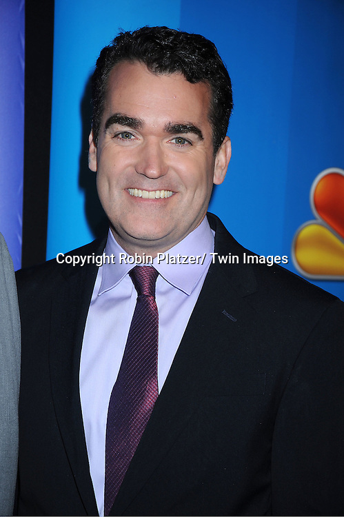 Brian d'Arcy James attending The NBC Upfront Presentation of the 2011-2012 Primetime Season on May 16, 2011 at The New York Hilton in New York City.