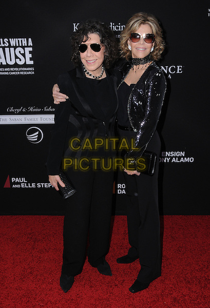11 May 2016 - Santa Monica, California - Lily Tomlin, Jane Fonda. Arrivals for Rebels With A Cause Gala held at The Barker Hangar. <br /> CAP/ADM/BT<br /> &copy;BT/ADM/Capital Pictures