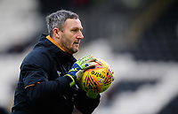 Hull City's goalkeeping coach Barry Richardson during the pre-match warm-up<br /> <br /> Photographer Chris Vaughan/CameraSport<br /> <br /> The EFL Sky Bet Championship - Hull City v Sheffield Wednesday - Saturday 12th January 2019 - KCOM Stadium - Hull<br /> <br /> World Copyright © 2019 CameraSport. All rights reserved. 43 Linden Ave. Countesthorpe. Leicester. England. LE8 5PG - Tel: +44 (0) 116 277 4147 - admin@camerasport.com - www.camerasport.com