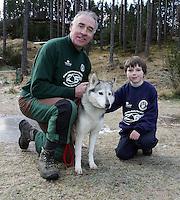 Aviemore Dog Sled Race 24/1/09