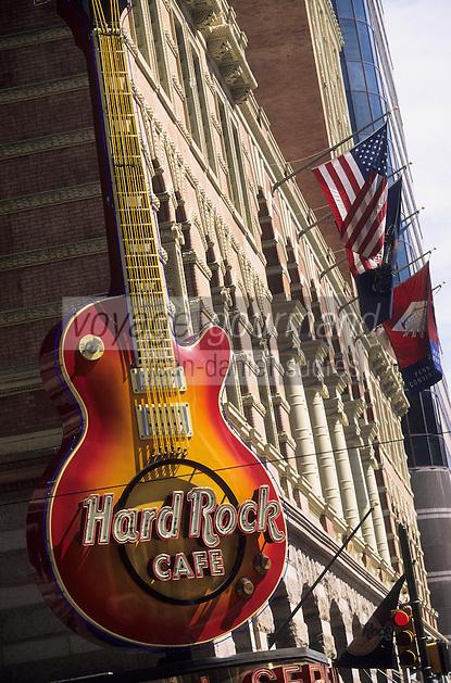 Amérique/Amérique du Nord/USA/Etats-Unis/Vallée du Delaware/Pennsylvanie/Philadelphie : Le Hard Rock Café