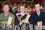 Bingo Night - Having a great family night out at the John Mitchell's GAA Club Super Bingo night in the specially erected marquee on Friday night were Connie, Betty and Cahill Turner from Ballinorig..   Copyright Kerry's Eye 2008