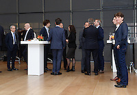 20161216 - AMSTERDAM , NETHERLANDS : reception prior to the event pictured during the UEFA EURO 2020 Host City Logo Launch event at the Hermitage Amsterdam Venue in Amsterdam , The Netherlands , Friday 16 th December 2016 . PHOTO UEFA.COM | SPORTPIX.BE | DIRK VUYLSTEKE