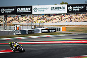 June 10th 2017,  Barcelona Circuit, Montmelo, Catalunya, Spain; MotoGP Grand Prix of Catalunya, qualifying day; Cal Crutchlow of LCRl Honda Team testing the new chicane of the circuit