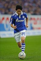 Fussball Bundesliga Saison 2011/2012 6. Spieltag FC Schalke 04 - FC Bayern Muenchen Atsuto UCHIDA (Schalke).