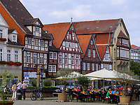Fachwerkhäuser am Marktplatz Großer Plan, Celle, Niedersachsen, Deutschland, Europa<br /> Half timbered houses at the marketplace Gro?er Plan, Celle, Lower Saxony, Germany, Europe