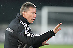 German coach Frank Wormuth in action during the Four Nations football match tournament Italy vs Germany at Rovereto, on November 14, 2013.  <br /> <br /> Pierre Teyssot