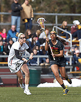 Boston College Women's Lacrosse vs. Maryland, March 16, 2013