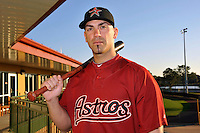 Feb 25, 2010; Kissimmee, FL, USA; The Houston Astros catcher Brian Esposito (70) during photoday at Osceola County Stadium. Mandatory Credit: Tomasso De Rosa/ Four Seam Images