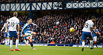 Barrie McKay ballons a shot over the bar