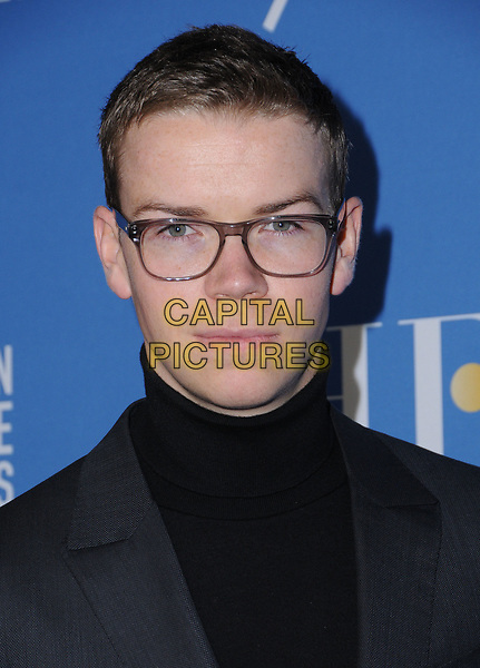 08 December  2017 - Hollywood, California - Will Poulter. HFPA 75th Anniversary Celebration and NBC Golden Globe Special Screening held at Paramount Studios in Hollywood. <br /> CAP/ADM/BT<br /> &copy;BT/ADM/Capital Pictures
