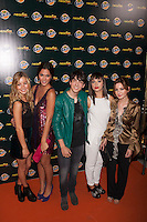 Charlotte Vega, Ivana Baquero, Michelle Calvó, Andrea Trepat and Jorge Clemente pose during Neox Fan Awards ceremony photocall in Madrid, Spain. October 08, 2014. (ALTERPHOTOS/Victor Blanco)