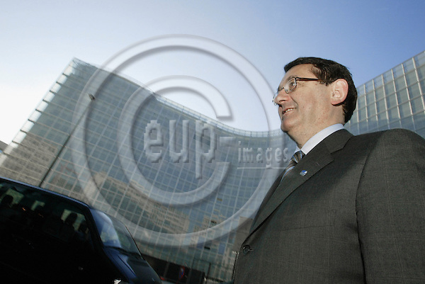 BELGIUM - BELGIUM - 18 February 2003-- Per Kristian FOSS, the Norwegian Minister of Finance during his Brussels visit.-- PHOTO: EUP-IMAGES.COM / JUHA ROININEN