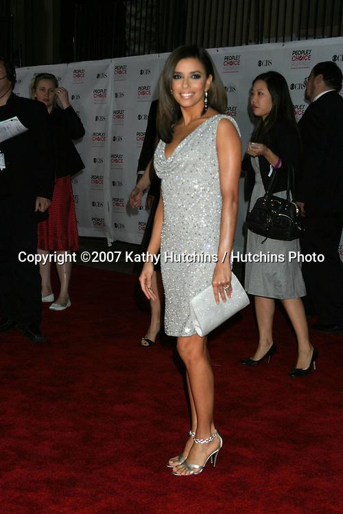Eva Longoria.2007 People's Choice Awards -  Arrivals.Shrine Auditorium.Los Angeles,  CA.January 8, 2007.©2007 Kathy Hutchins / Hutchins Photo....