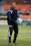 14 April 2007: Kansas City goalkeeper coach Dave Tenney.  DC United lost 4-2 to the Kansas City Wizards at RFK Stadium in Washington, DC in their Major League Soccer 2007 regular season home opener.