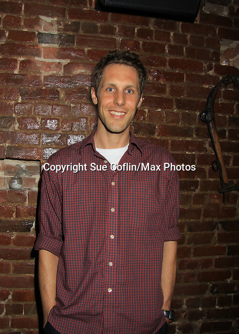 Kevin DeBacker (cast member) at Empire The Series cast & crew get together to see the newest episode on August 28, 2012 at Smithfields in Chelsea, New York City, New York.  (Photo by Sue Coflin/Max Photos)
