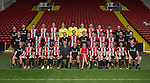 Sheffield Utd team group with sponsor CR Asbestos during the 2017/18 Photocall at Bramall Lane Stadium, Sheffield. Picture date 7th September 2017. Picture credit should read: Sportimage