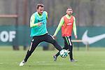 14.04.2018, Trainingsgelaende, Bremen, GER, 1.FBL, Training SV Werder Bremen<br /> <br /> im Bild<br /> Philipp Bargfrede (Werder Bremen #44), <br /> <br /> Foto &copy; nordphoto / Ewert