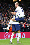 Tottenham's Dele Alli celebrates with Harry Kane after scoring to make it 2-0 during the Premier League match at the Tottenham Hotspur Stadium, London. Picture date: 30th November 2019. Picture credit should read: Paul Terry/Sportimage