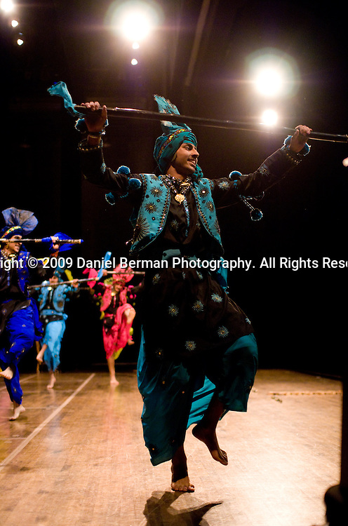 Bhangra Bash competition at the University of Washington, Meany Hall,  Saturday March 28; 2009. Photo by Daniel Berman/www.bermanphotos.com