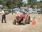 Day 3 of the 78th Amador County Fair, Plymouth, Calif.<br /> <br /> Youth Tractor Safety Rodeo