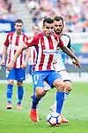Atletico de Madrid's player Ángel Martín Correa and Deportivo de la Coruña's player Emre Colak during a match of La Liga Santander at Vicente Calderon Stadium in Madrid. September 25, Spain. 2016. (ALTERPHOTOS/BorjaB.Hojas)