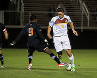 The Winthrop University Eagles lose 2-1 in a Big South contest against the Campbell University Camels.  Pol Sole (10), Jhuvon Francis (9)