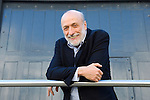 Carlo Petrini at Christ Church during the Sunday Times Oxford Literary Festival, UK, 24 March - 1 April 2012. ..PHOTO COPYRIGHT GRAHAM HARRISON .graham@grahamharrison.com.+44 (0) 7974 357 117.Moral rights asserted.