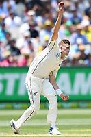 27th December 2019; Melbourne Cricket Ground, Melbourne, Victoria, Australia; International Test Cricket, Australia versus New Zealand, Test 2, Day 2; Tim Southee of New Zealand bowls - Editorial Use