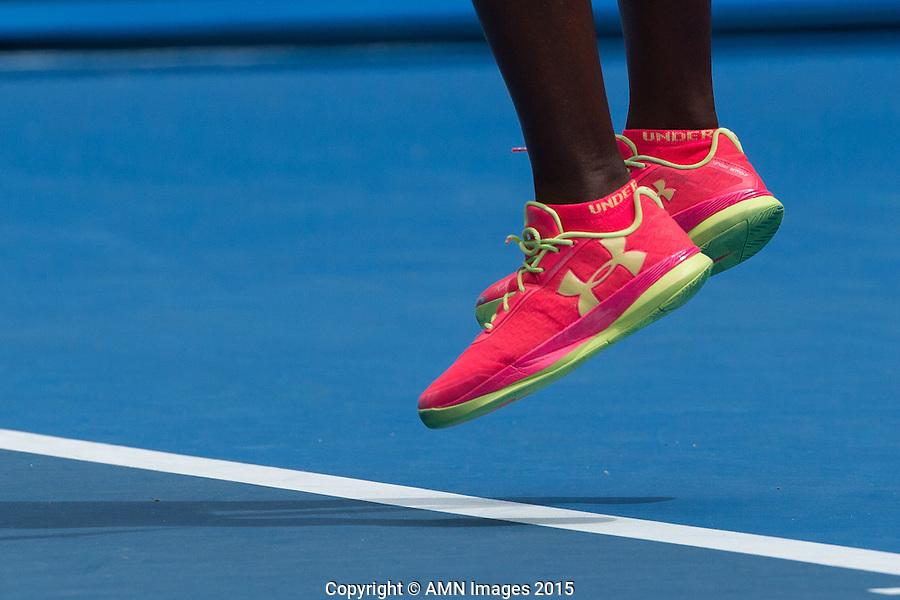 Sloane Stephens (USA)<br /> <br /> Tennis - Australian Open 2015 - Grand Slam -  Melbourne Park - Melbourne - Victoria - Australia  - 20 January 2015. <br /> &copy; AMN IMAGES