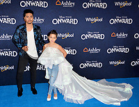 """LOS ANGELES, CA: 18, 2020: Nephi Garcia & Lili Garcia at the world premiere of """"Onward"""" at the El Capitan Theatre.<br /> Picture: Paul Smith/Featureflash"""