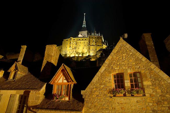 Mont Saint-Michel - In Dawn Mist  - Brittany - France